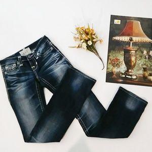 Big Star LIV Embellished Straight Leg Jean